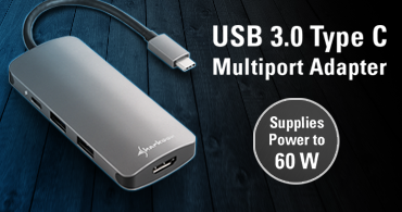 USB 3.0 Type C Multiport Adapter